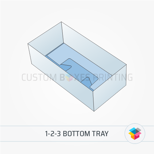1-2-3 Bottom tray
