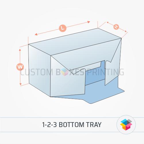 1-2-3 Bottom tray