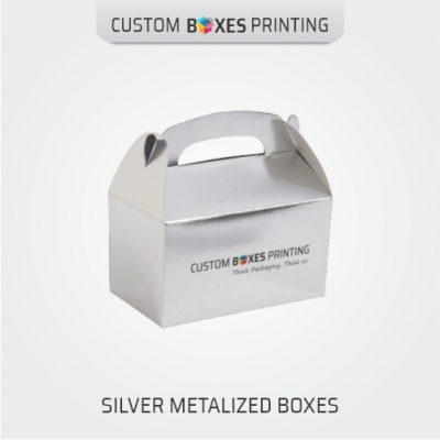 Custom Silver Foil Boxes