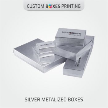 Custom Silver Foil Boxes