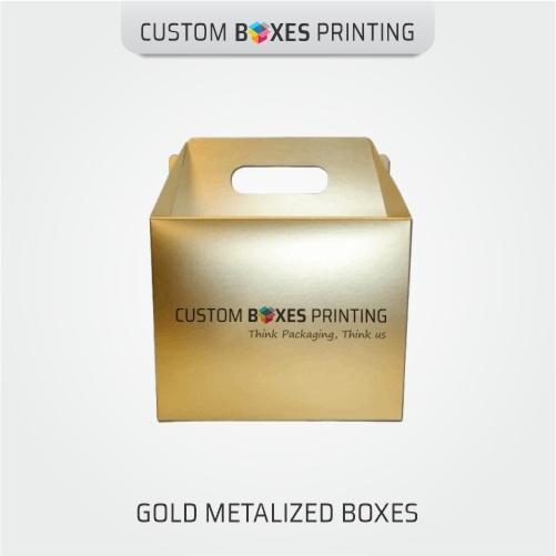 Gold Foil Gift Boxes