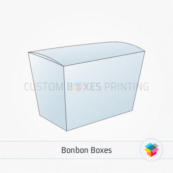 Custom bonbon boxes