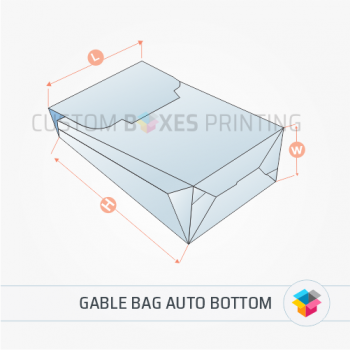 Gable bag auto bottom