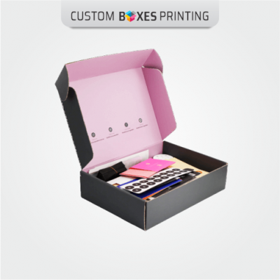 Custom Pink Mailing Boxes