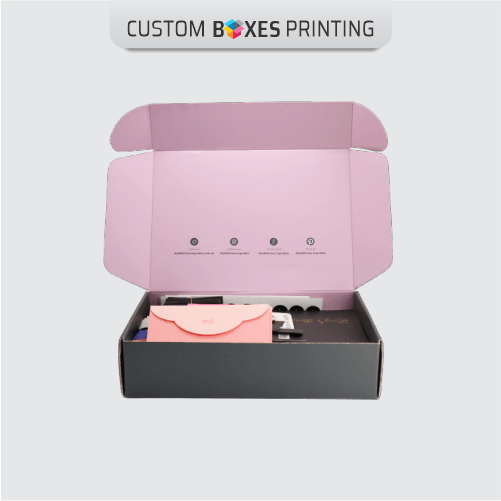 Pink Mailer boxes