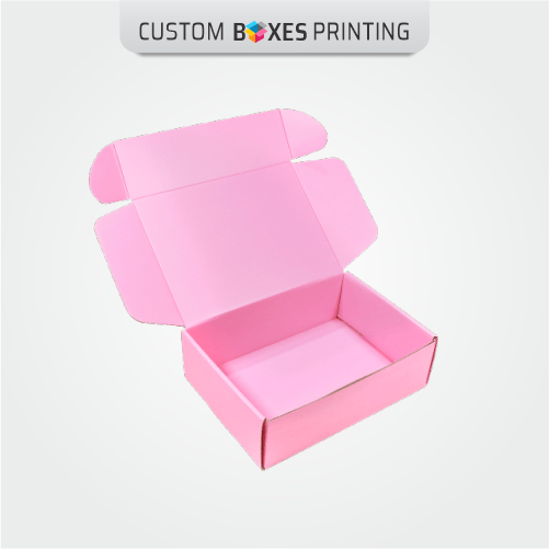 Pink Mailing Boxes