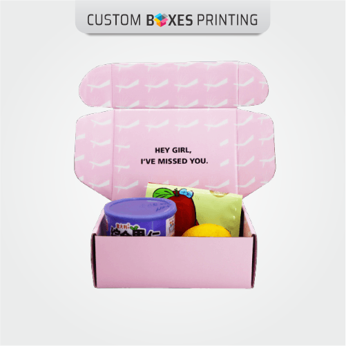 Pink Mailing boxes wholesale