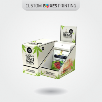 custom cbd display boxes