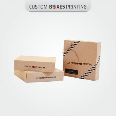 Custom Kraft Apparel Boxes