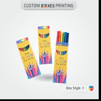 colour pencil boxes